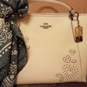 Coach Studded Tote NWT